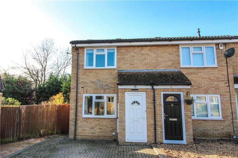 2 Bedrooms End Of Terrace House for sale in Appletree Way, Owlsmoor, Sandhurst, Berkshire, GU47