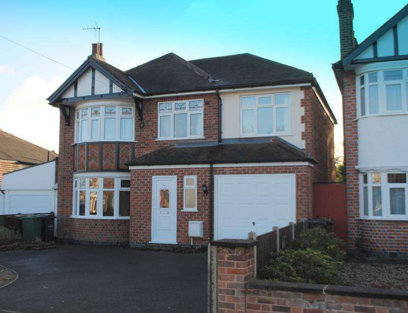 4 Bedrooms Detached House for sale in Oakfield Avenue, Birstall, Leicester