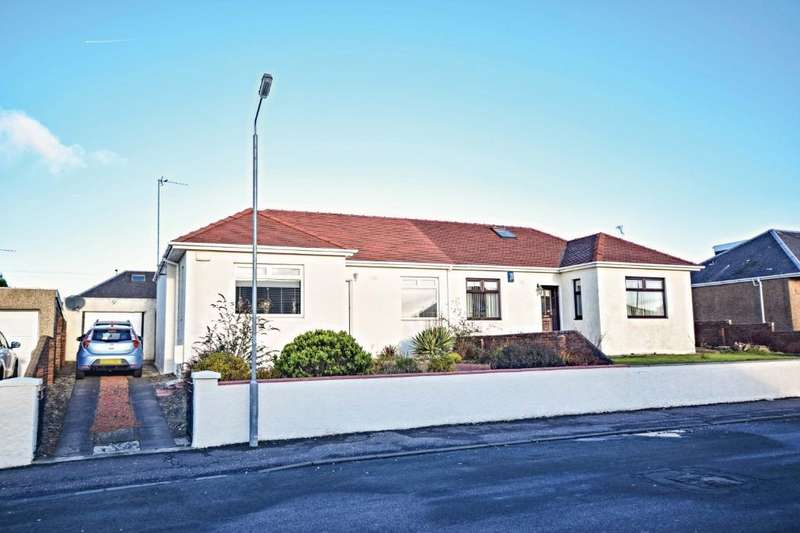 2 Bedrooms Semi Detached Bungalow for sale in Braehead Avenue, Ayr , South Ayrshire, KA8 0JS