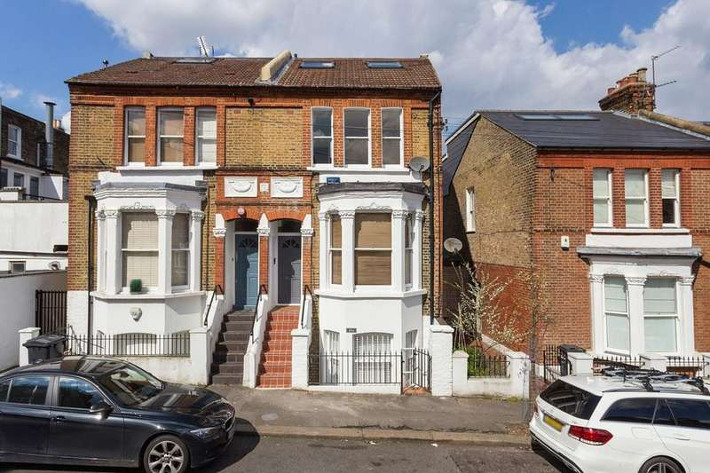 2 Bedrooms Maisonette Flat for sale in Rozel Road, SW4