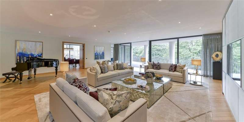 3 Bedrooms Flat for sale in One Kensington Gardens, Kensington Road, London W8