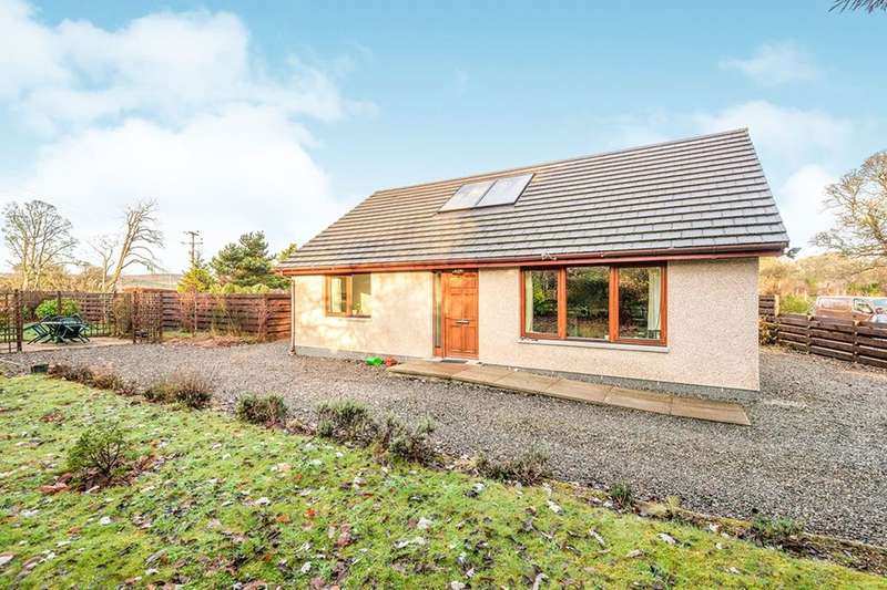 2 Bedrooms Detached Bungalow for sale in Ruric Megstone, Kiltarlity, Beauly, IV4