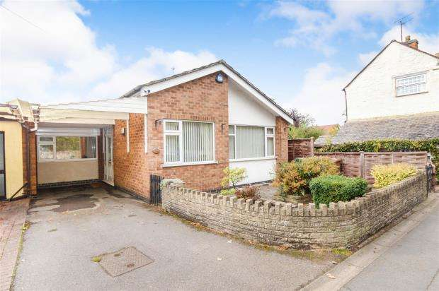 2 Bedrooms Semi Detached Bungalow for sale in Meynell Road, Quorn