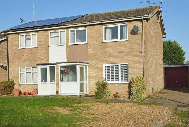 3 Bedrooms Semi Detached House for sale in Mountbatten Way, Peterborough