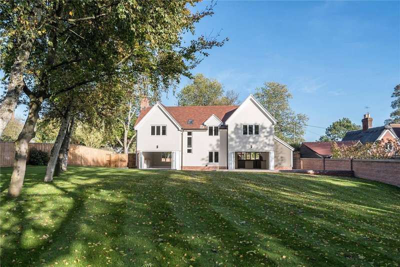 4 Bedrooms Detached House for sale in Thurlow Road, Great Bradley, Newmarket, Suffolk, CB8