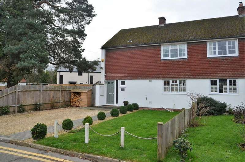 3 Bedrooms Semi Detached House for sale in Wharf Side, Padworth, Reading, Berkshire, RG7