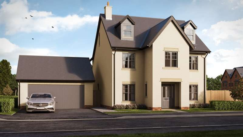 4 Bedrooms Detached House for sale in Usk Field, Llanishen, Cardiff
