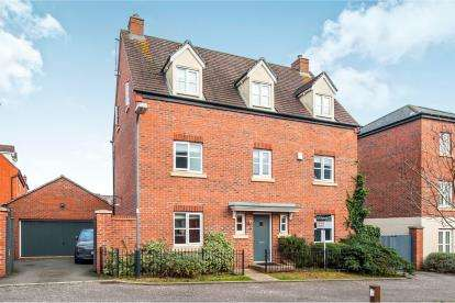 5 Bedrooms Detached House for sale in Old School Mead, Bidford-On-Avon, Alcester, Warwickshire