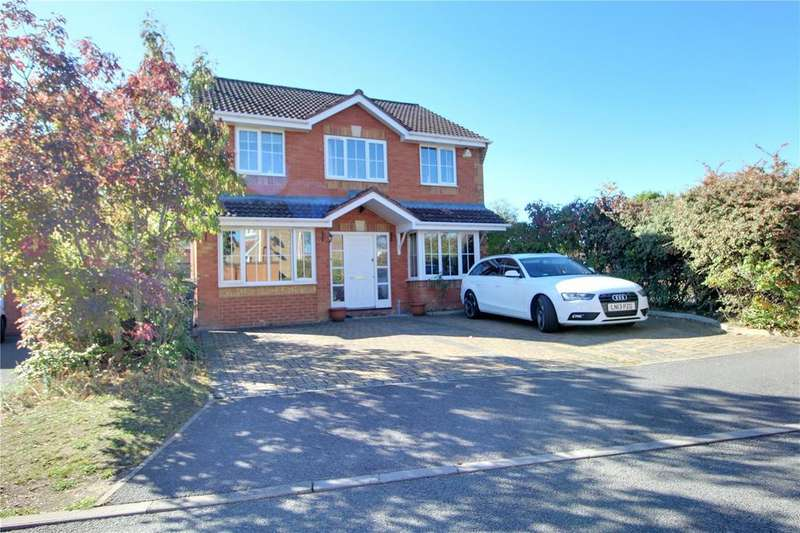 4 Bedrooms Detached House for sale in Greenidge Close, Reading, Berkshire, RG1