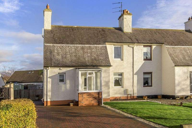 2 Bedrooms Semi Detached House for sale in 17 Douglas Crescent, Bonnyrigg, EH19 2DF