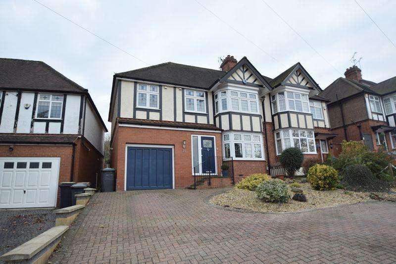 4 Bedrooms Semi Detached House for sale in Cutenhoe Road, Luton