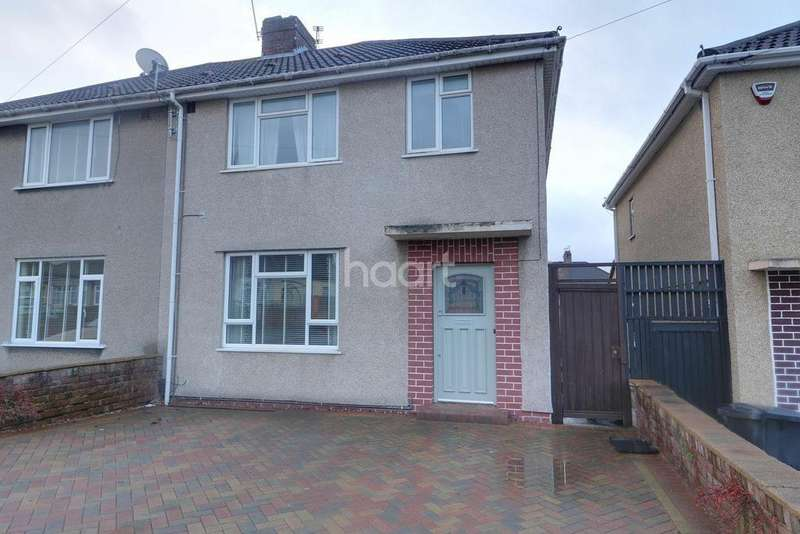 3 Bedrooms Semi Detached House for sale in Radley Road, Fishponds, BS16