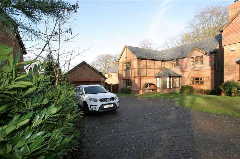5 Bedrooms Detached House for sale in West Drive, St Edwards Park, Cheddleton