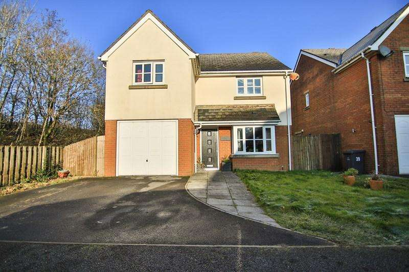 4 Bedrooms Detached House for sale in Lakeside Way, Nantyglo, Ebbw Vale