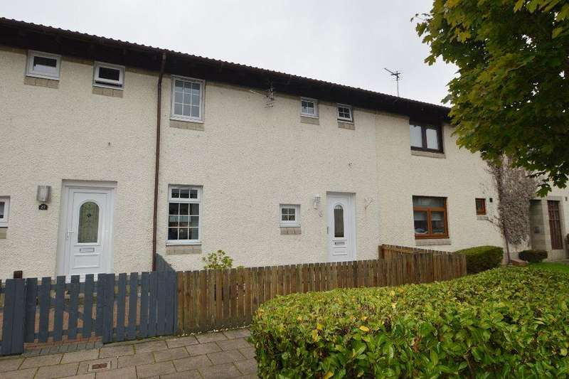 2 Bedrooms Terraced House for sale in Bowmore Court, Irvine, North Ayrshire, KA11 2EA