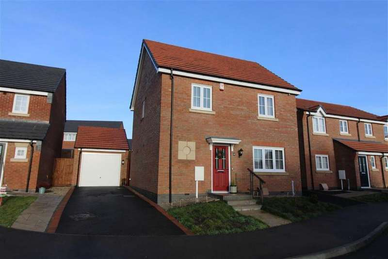 3 Bedrooms Detached House for sale in Doctor Wright Close, Markfield