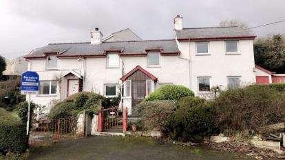 4 Bedrooms Detached House for sale in Yr Ogof, Ynys, Talsarnau, Gwynedd, LL47