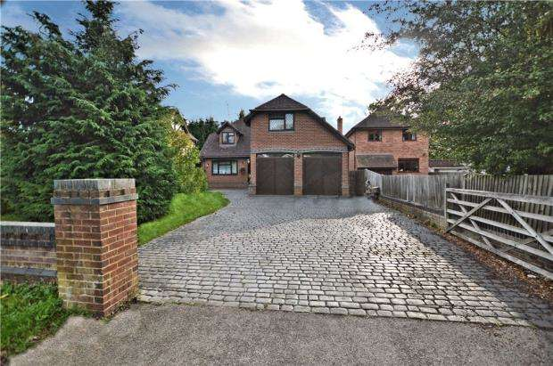 5 Bedrooms Detached House for sale in Wintringham Way, Purley on Thames, Reading