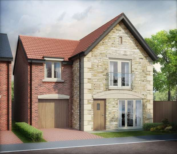 4 Bedrooms Detached House for sale in The Deakin - Plot 7, Cathedral Gates, Chilton, Durham