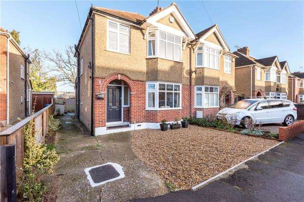 3 Bedrooms Semi Detached House for sale in Haslemere Road, Windsor, Berkshire