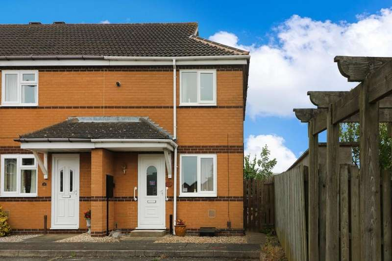 2 Bedrooms End Of Terrace House for sale in Wellington Way, Melton Mowbray