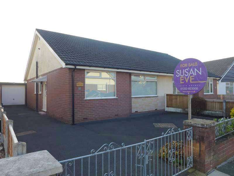 2 Bedrooms Semi Detached Bungalow for sale in Southdown Drive