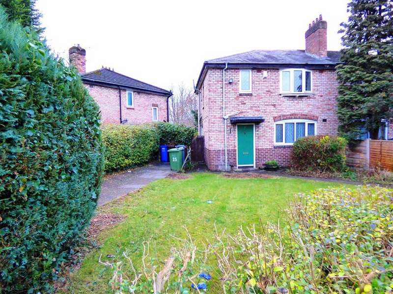 3 Bedrooms Semi Detached House for sale in Heyscroft Road, Withington, Manchester, M20