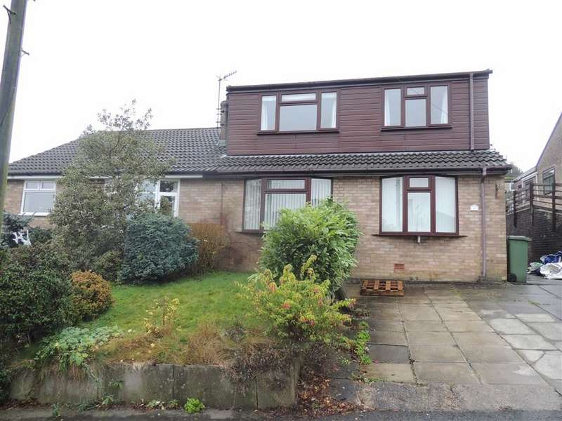 4 Bedrooms Semi Detached Bungalow for sale in Hall Avenue, Heyrod, Stalybridge