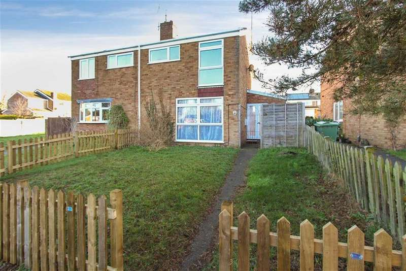3 Bedrooms Semi Detached House for sale in Winston Close, Leighton Buzzard