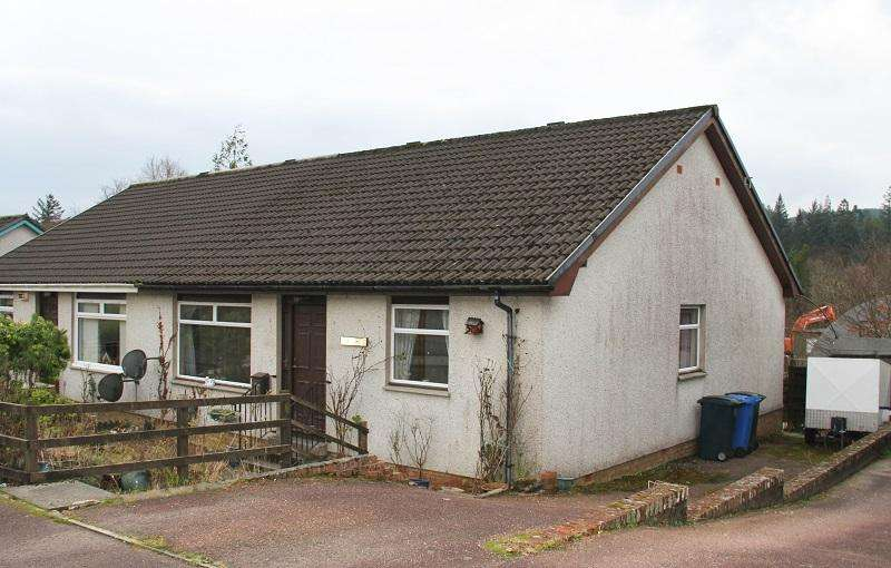3 Bedrooms Semi Detached Bungalow for sale in Wilson Road, Lochgilphead PA31