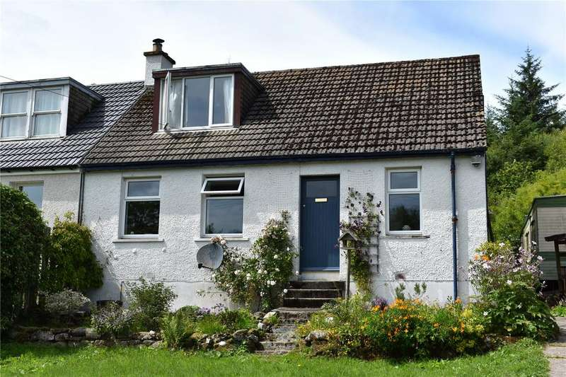3 Bedrooms Semi Detached House for sale in 7 Torinturk, Tarbert, Argyll and Bute, PA29