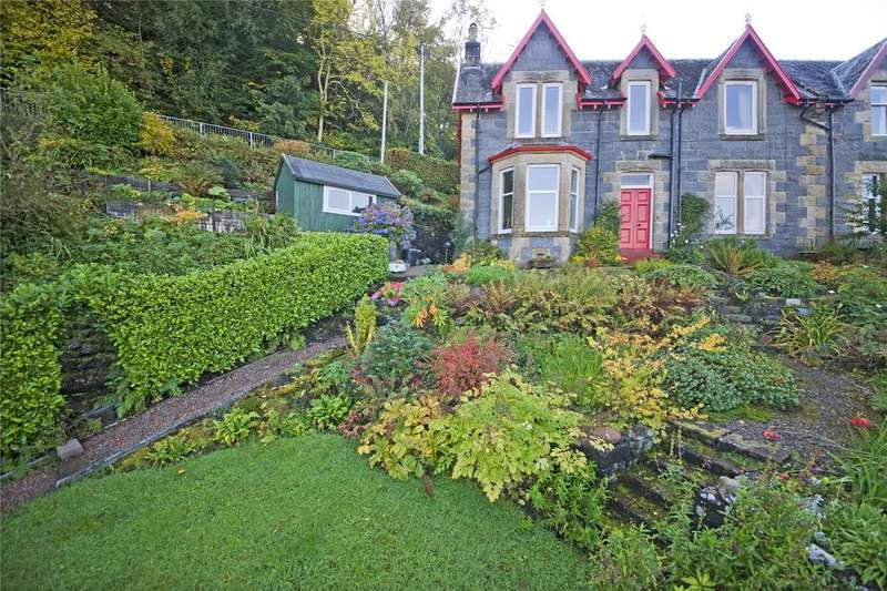 3 Bedrooms Semi Detached House for sale in Sannox, Crannaig-a-Mhinister, Oban, Argyll and Bute, PA34