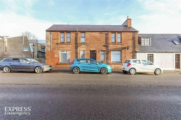 1 Bedroom Flat for sale in Kilmarnock Road, Mauchline, East Ayrshire