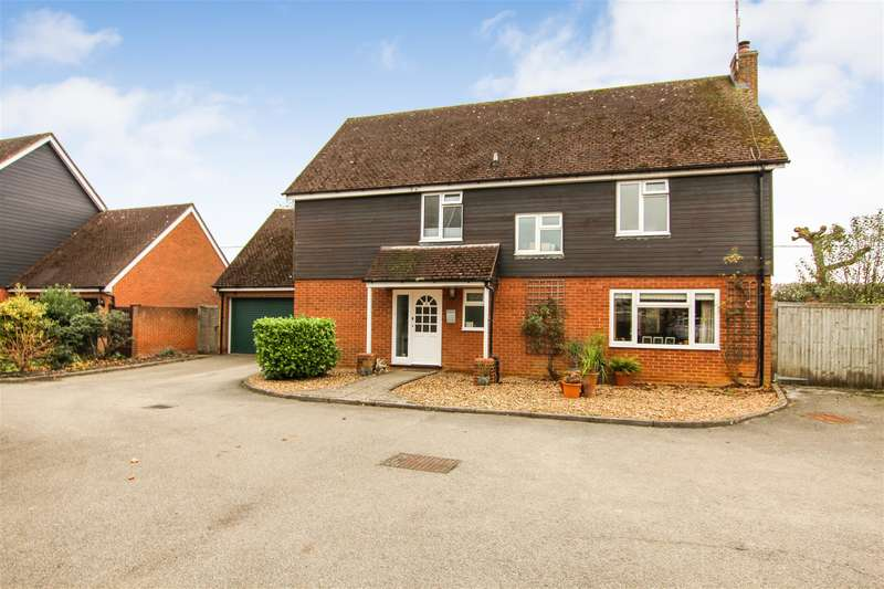 4 Bedrooms Detached House for sale in Meadow Close, Cublington