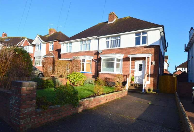 3 Bedrooms Semi Detached House for sale in Mayfield Road, St. Loyes, Exeter