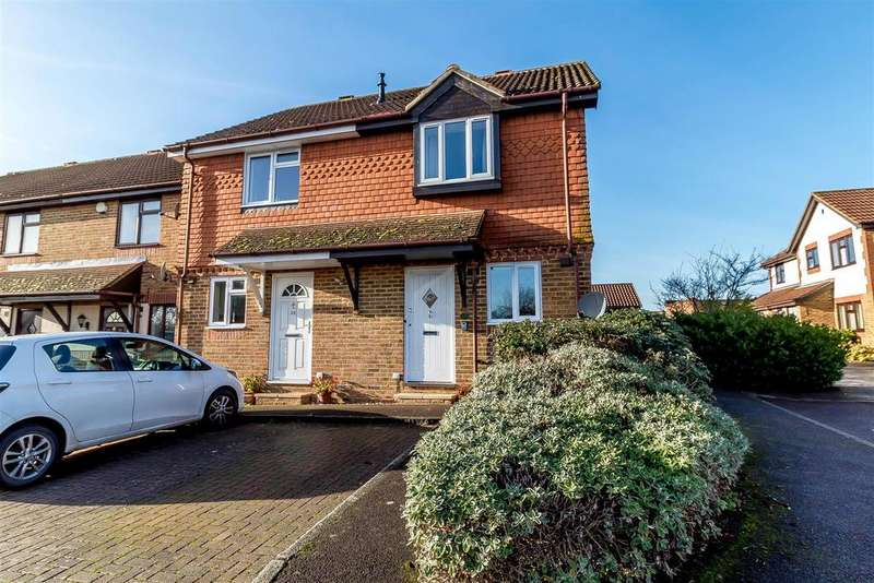 2 Bedrooms End Of Terrace House for sale in Coleridge Close, Twyford, Reading