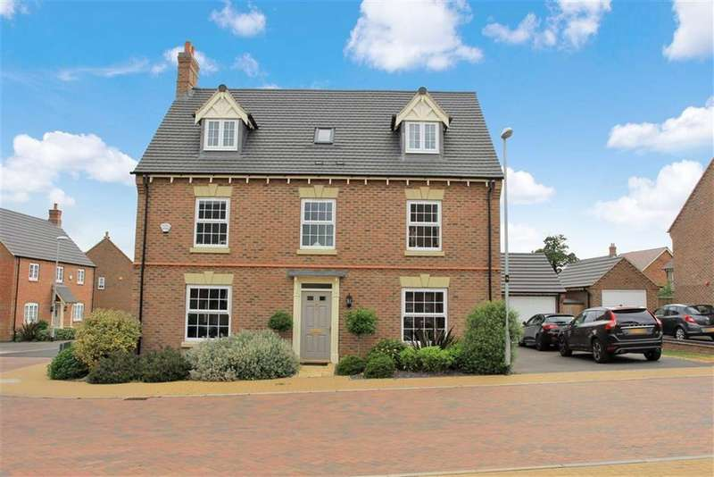5 Bedrooms Detached House for sale in Graves Way, Anstey, Leicester