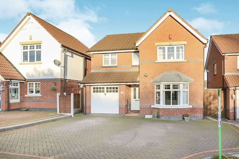4 Bedrooms Detached House for sale in Seagull Bay Drive, Coseley, Bilston, WV14
