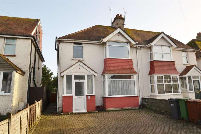 3 Bedrooms Semi Detached House for sale in St. Anthonys Avenue, St. Anthonys, Eastbourne