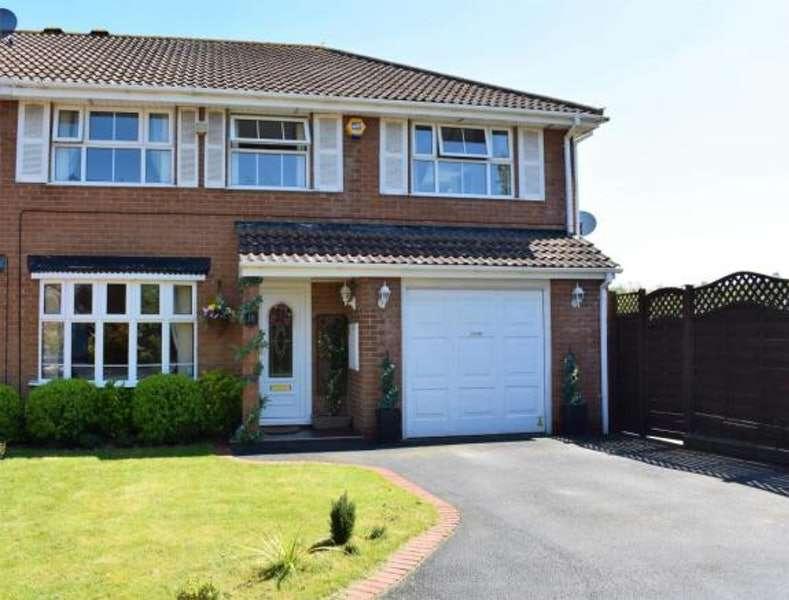 4 Bedrooms Semi Detached House for sale in Fylton Croft, Bristol, Somerset, BS14