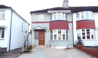 3 Bedrooms Semi Detached House for sale in Orchard Avenue, Southgate, London, .