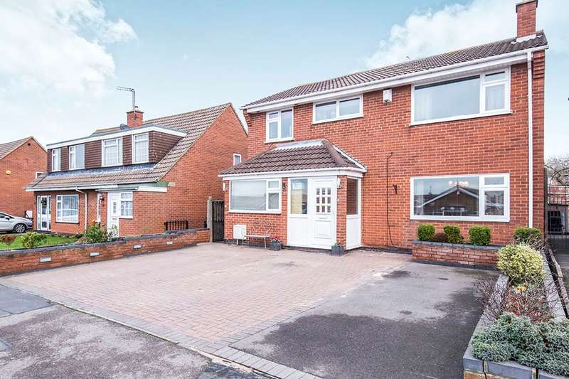 6 Bedrooms Detached House for sale in Blackburn Road, Barwell, Leicester, LE9