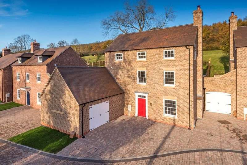 5 Bedrooms Detached House for sale in Leighton House, Plot 4 - Henrietta Way, High Street, Coalport, Telford, TF8