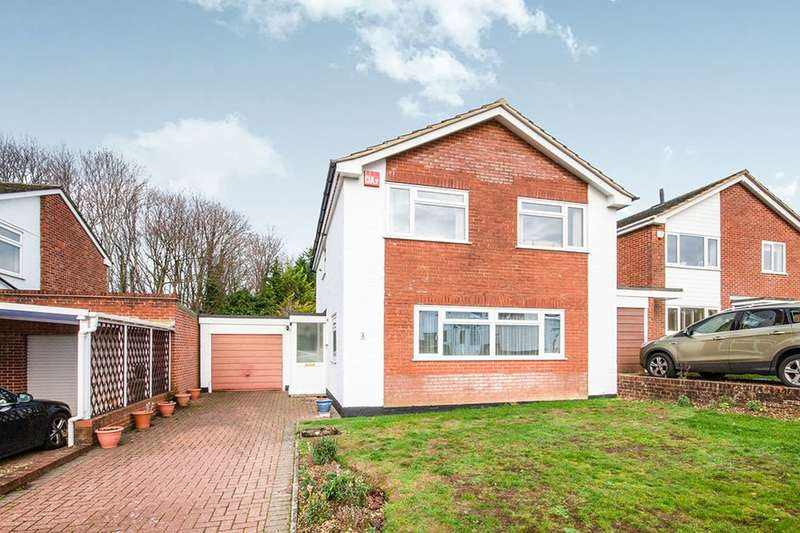 4 Bedrooms Detached House for sale in Frithmead Close, Basingstoke, RG21