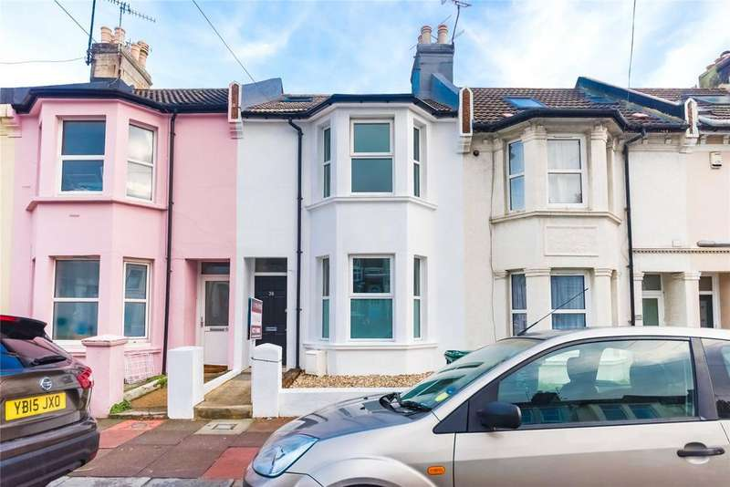 4 Bedrooms Terraced House for sale in Roedale Road, Brighton, BN1