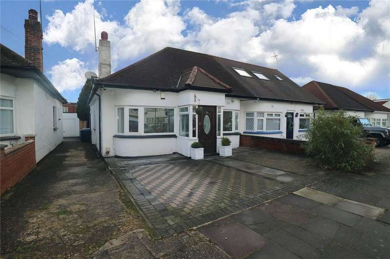 2 Bedrooms Semi Detached Bungalow for sale in Wood Lane, London, NW9