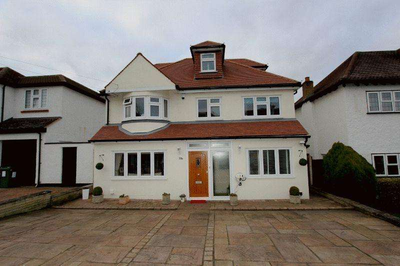 4 Bedrooms Detached House for sale in South Rise, Carshalton Beeches