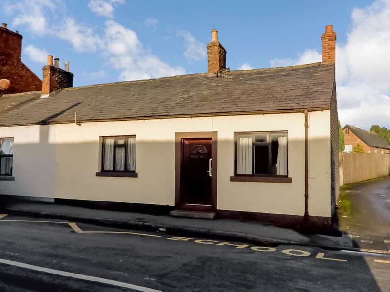 2 Bedrooms Bungalow for sale in 23 Mary Street, Longtown, Carlisle, Cumbria
