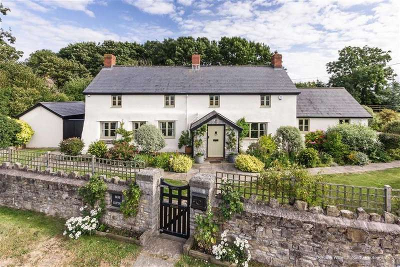 4 Bedrooms Detached House for sale in Nurston, Vale Of Glamorgan