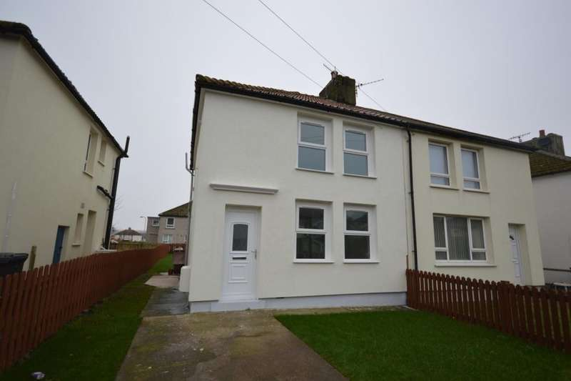 2 Bedrooms Semi Detached House for sale in Fleswick Avenue, Whitehaven, CA28